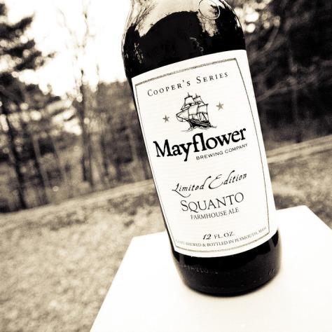 Обзор пива. Mayflower Squanto.