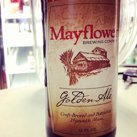 Обзор пива. Mayflower Golden Ale.