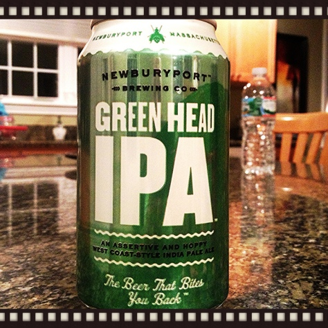 Обзор пива. Newburyport Green Head IPA.