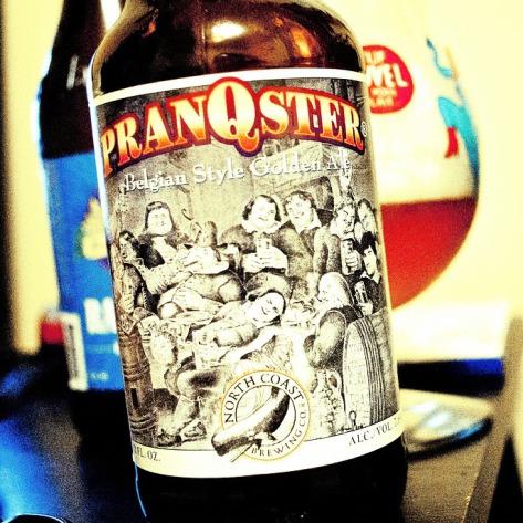 Обзор пива. North Coast Pranqster.