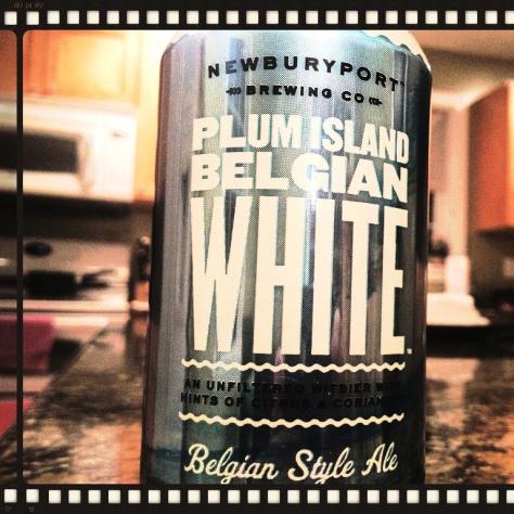 NEWBURYPORT PLUM ISLAND BELGIAN WHITE. [ОБЗОР ПИВА].