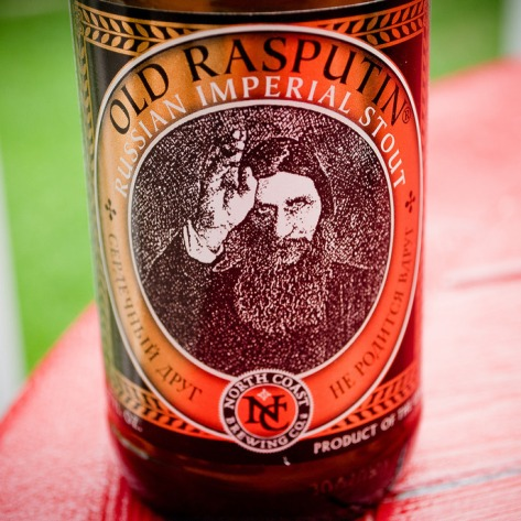 Обзор пива. North Coast Old Rasputin.