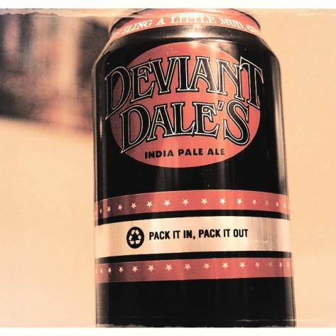 Обзор пива. Oskar Blues Deviant Dale's IPA.