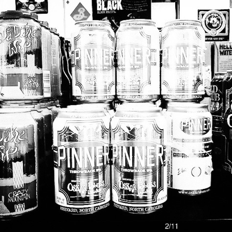 Обзор пива. Oskar Blues Pinner Throwback.
