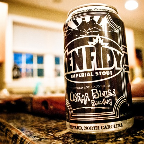 Обзор пива. Oskar Blues Ten Fidy.