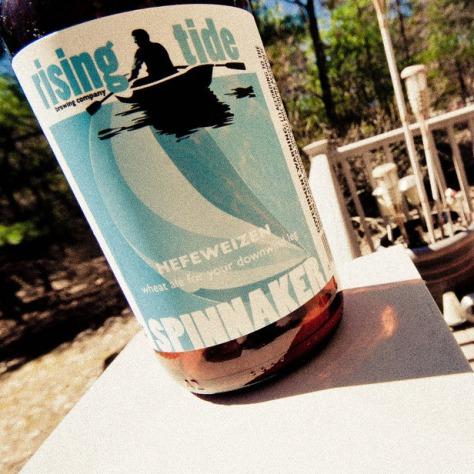 Обзор пива. Rising Tide Spinnaker.