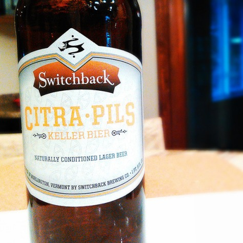 Обзор пива. Switchback Citra Pils.