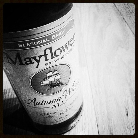 Обзор пива. Mayflower Autumn Wheat.