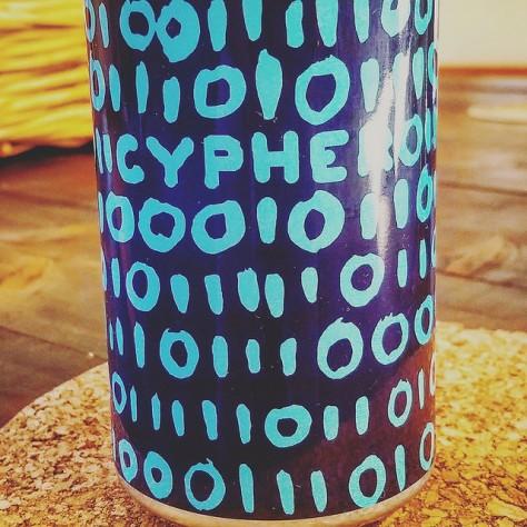 Обзор пива. Bunker Cypher.