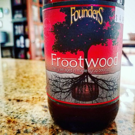 Обзор пива. Founders Frootwood.