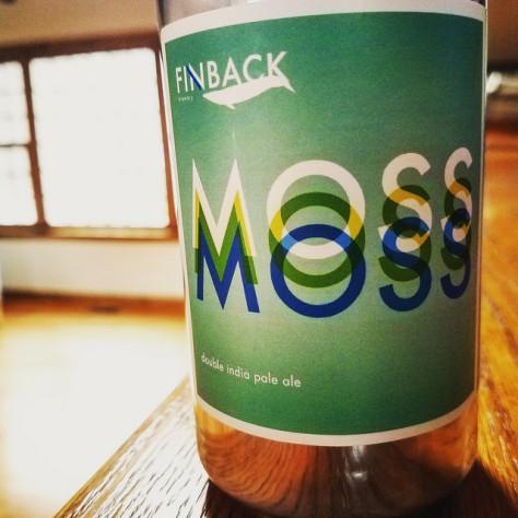 Обзор пива. Finback Moss.