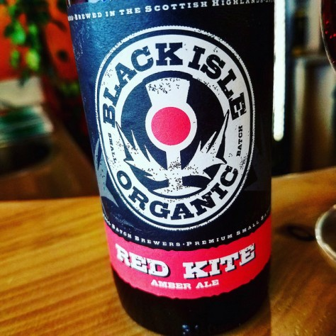 Обзор пива. Black Isle Red Kite Ale.