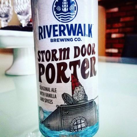 Обзор пива. Riverwalk Storm Door Porter.
