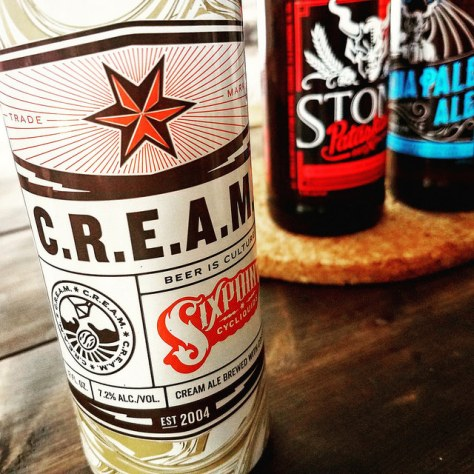 Обзор пива. Sixpoint C.R.E.A.M. Cream Ale With Coffee.