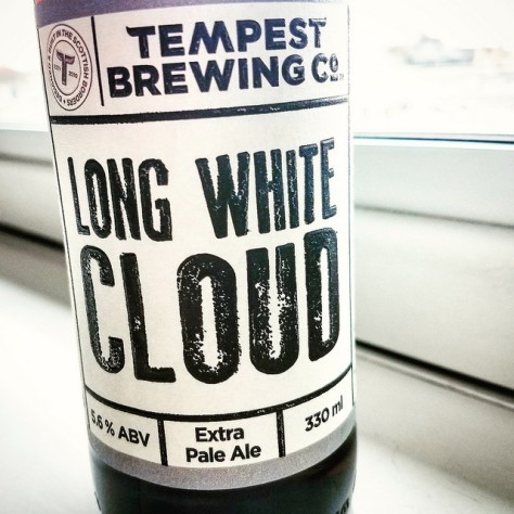 Обзор пива. Tempest Long White Cloud.