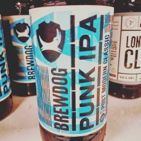 Обзор пива. BrewDog Punk IPA.