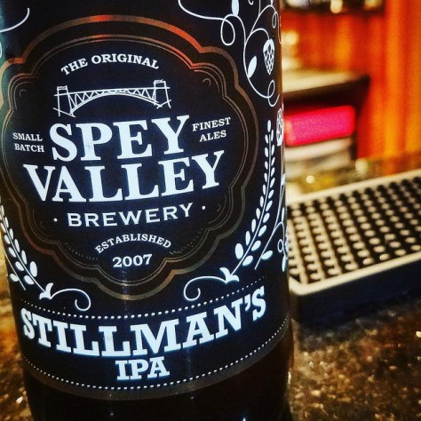 Обзор пива. Spey Valley Stillman's IPA.