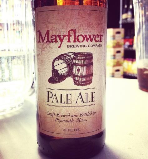Обзор пива. Mayflower Pale Ale.