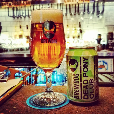 Крафтовая пивоварня. Brewdog Edinburgh Brewery.