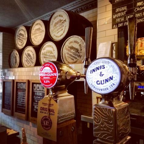 Крафтовая пивоварня. Innis & Gunn Beer Kitchen.