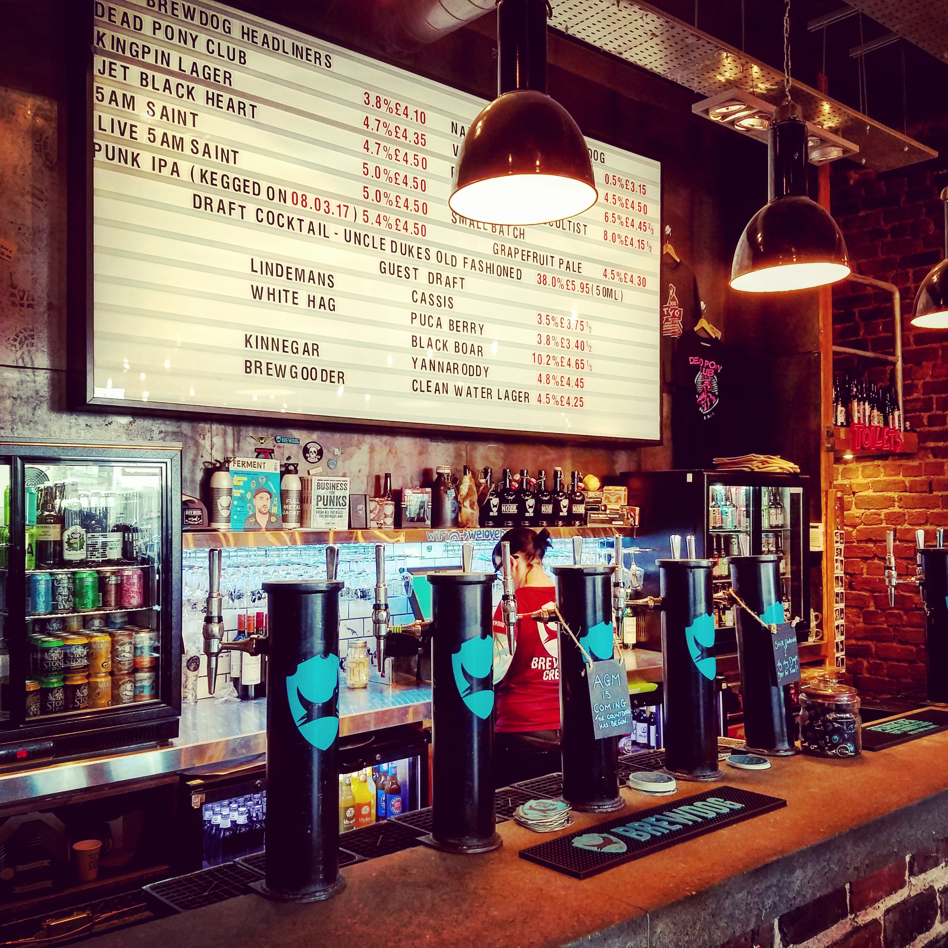 Крафтовая пивоварня. Brewdog Aberdeen Brewery Правильный бокал для правильного пива.