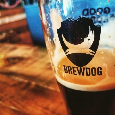 Крафтовая пивоварня. Brewdog Aberdeen Brewery.