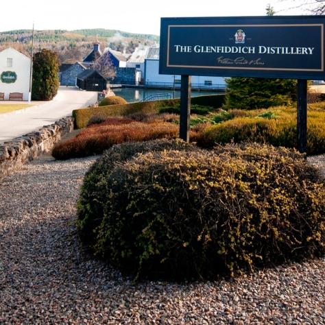Дистиллерия Гленфиддик. Glenfiddich Distillery.