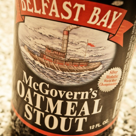 Обзор пива. Belfast Bay McGovern's Oatmeal Stout.