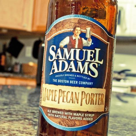 Обзор пива. Samuel Adams Maple Pecan Porter.