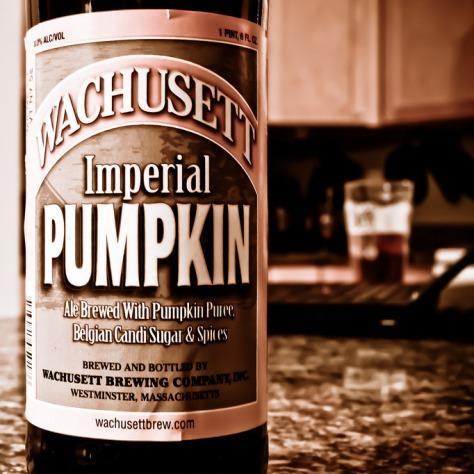 Обзор пива. Wachusett Imperial Pumpkin.