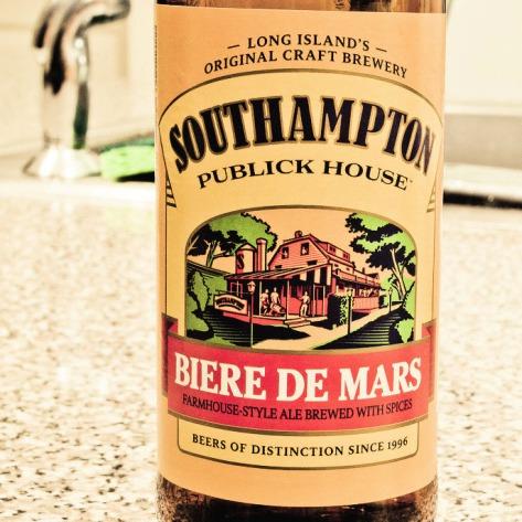 Обзор пива. Southampton Biere De Mars.