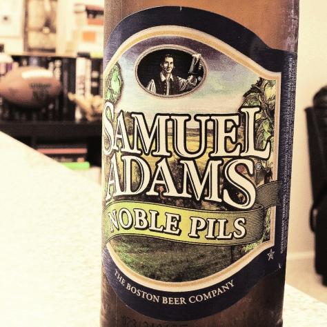 Обзор пива. Samuel Adams Noble Pils.