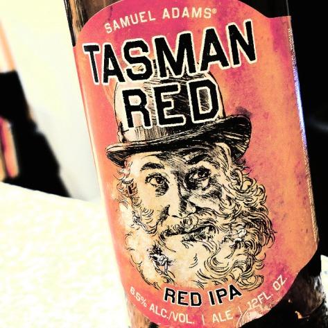 Обзор пива. Samuel Adams Tasman Red IPA.