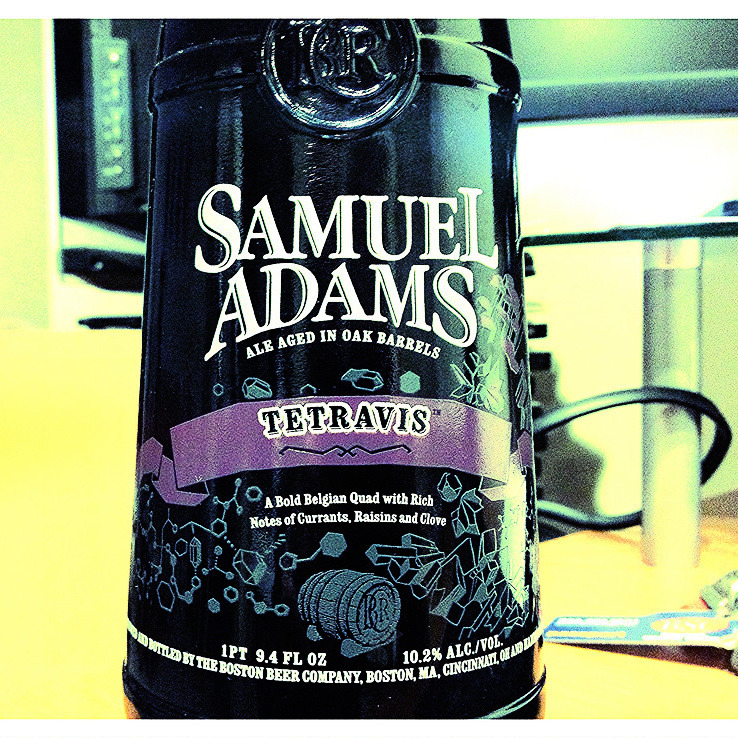 Обзор пива. Samuel Adams Tetravis (Barrel Room Collection).