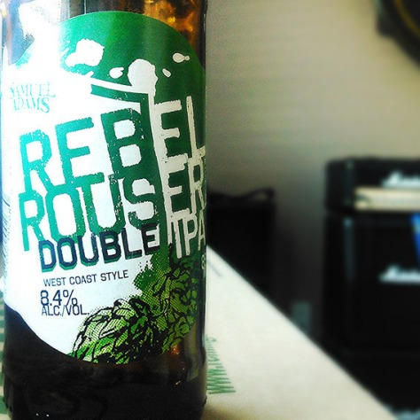 Обзор пива. Samuel Adams Rebel Rouser.