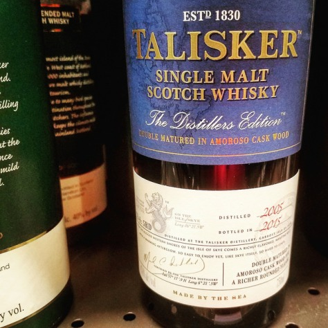 Обзор виски. Talisker Distillers Edition.