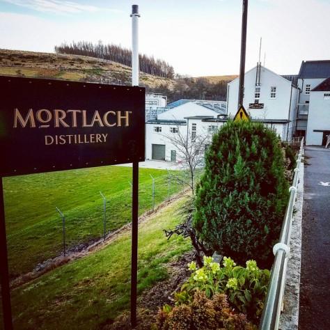 Столица мира виски. Город Даффтон. [Dufftown]. Шотландия. [2017 год]. Mortlach distillery.