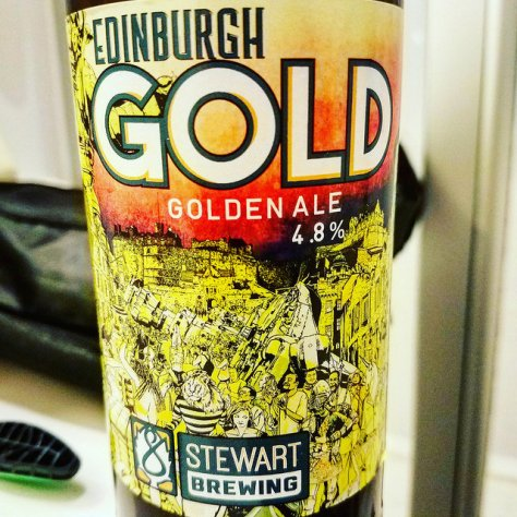 Обзор пива. Stewart Edinburgh Gold.