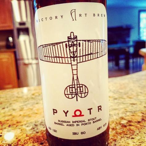 Обзор пива. Victory Art Brew Pyotr.