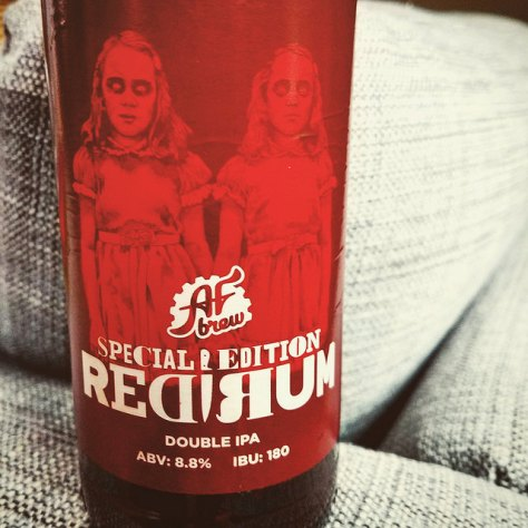 Обзор пива. AF Brew Redrum IPA.