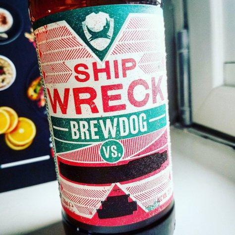 Обзор пива. BrewDog Ship Wreck.