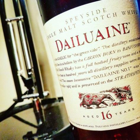 Обзор виски. Dailuaine 16.