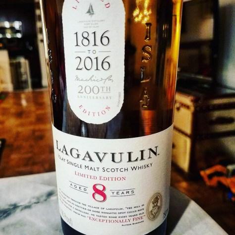Обзор виски. Lagavulin 8.