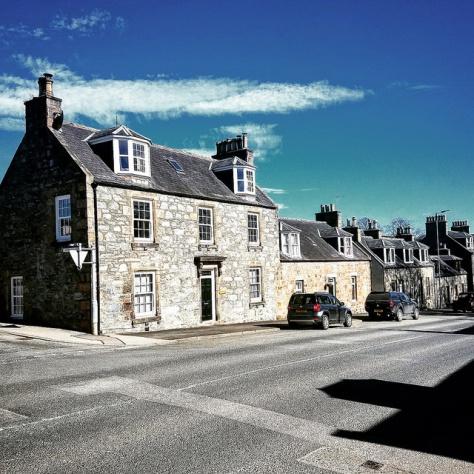 Столица мира виски. Город Даффтон. [Dufftown]. Шотландия. [2017 год].