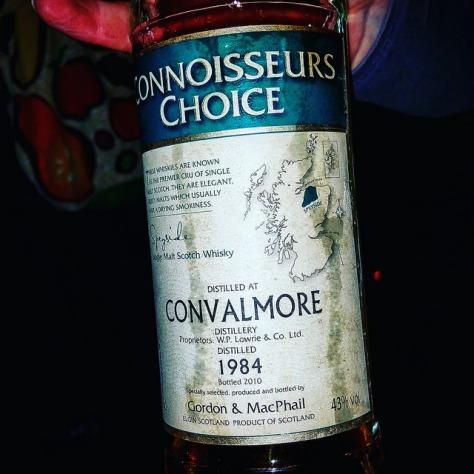 Обзор виски. Convalmore 1984.