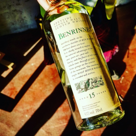 Обзор виски. Benrinnes 15.