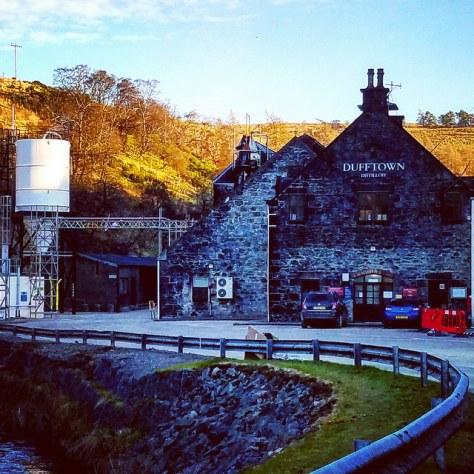 Столица мира виски. Город Даффтон. [Dufftown]. Шотландия. [2017 год]. Dufftown distillery.