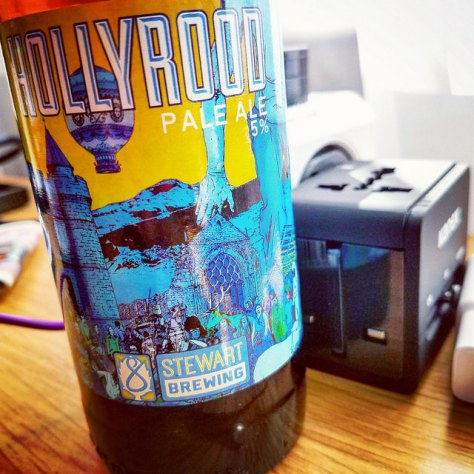 Обзор пива. Stewart Hollyrood.