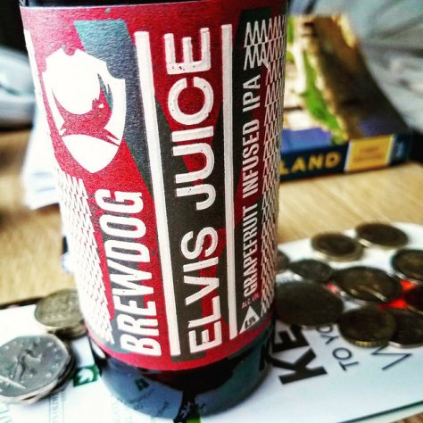 Обзор пива. BrewDog Elvis Juice.