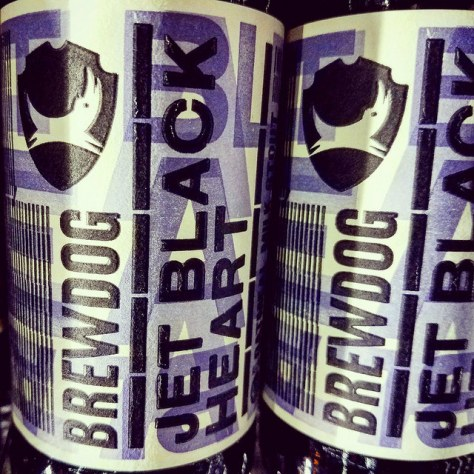 Обзор пива. BrewDog Jet Black Heart.